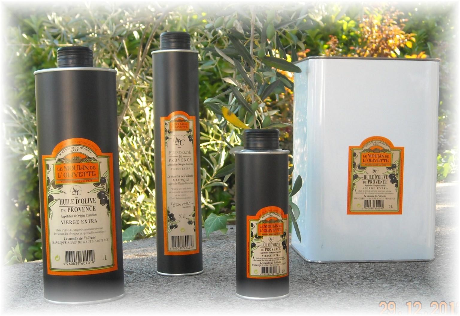 H olive v extra aoc provence huile d 39 olive aoc provence for Huile d olive salon de provence