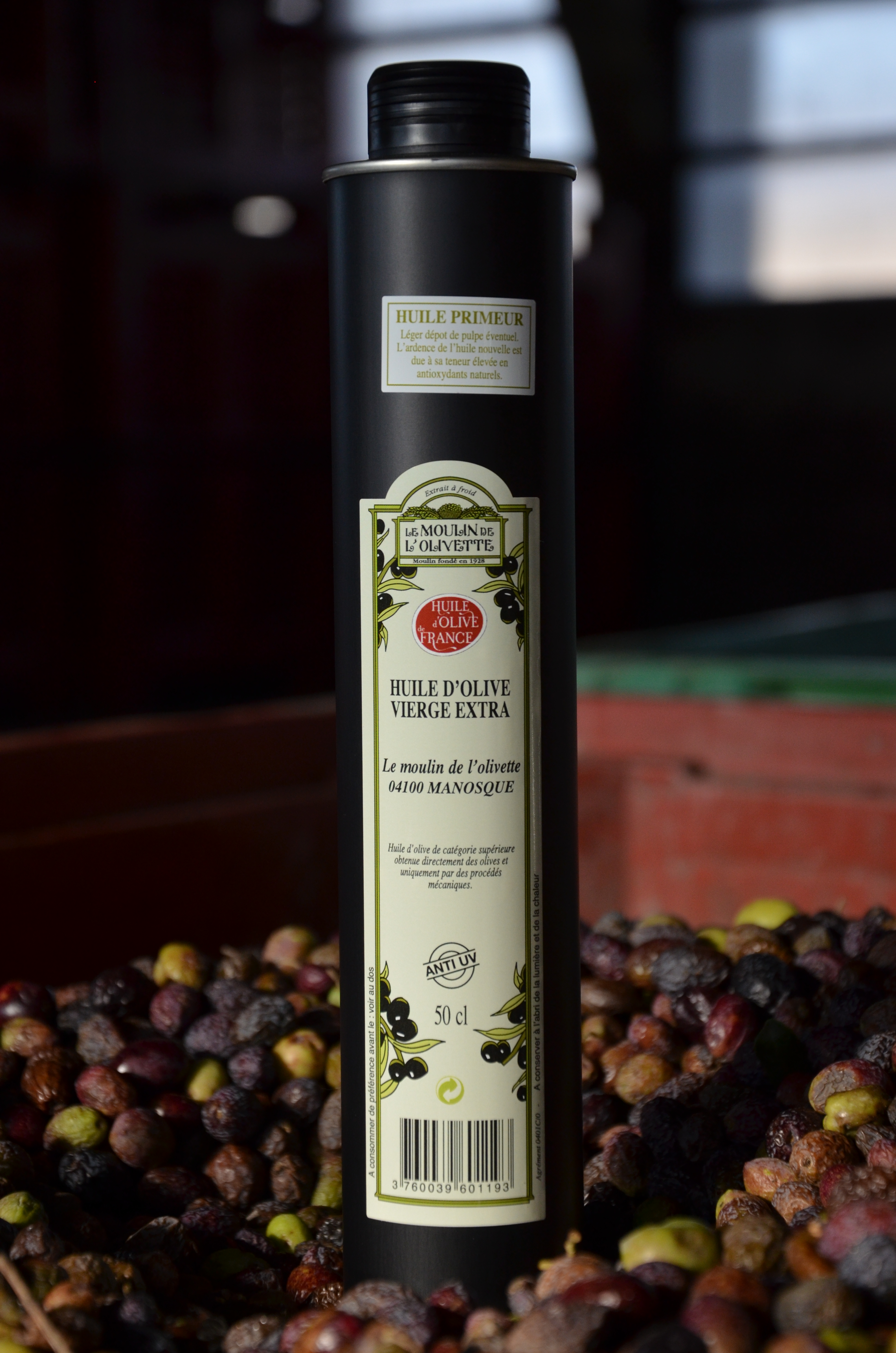 huile d 39 olive v extra du midi de la france 0 5l huile d 39 olive de provence aoc en vente directe. Black Bedroom Furniture Sets. Home Design Ideas