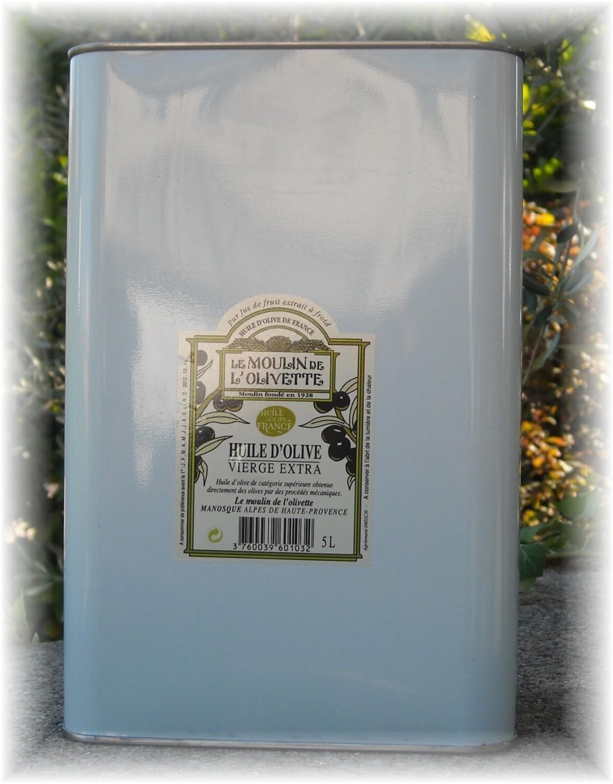huile d 39 olive v extra du midi de la france 5l huile d 39 olive de provence aoc en vente directe. Black Bedroom Furniture Sets. Home Design Ideas