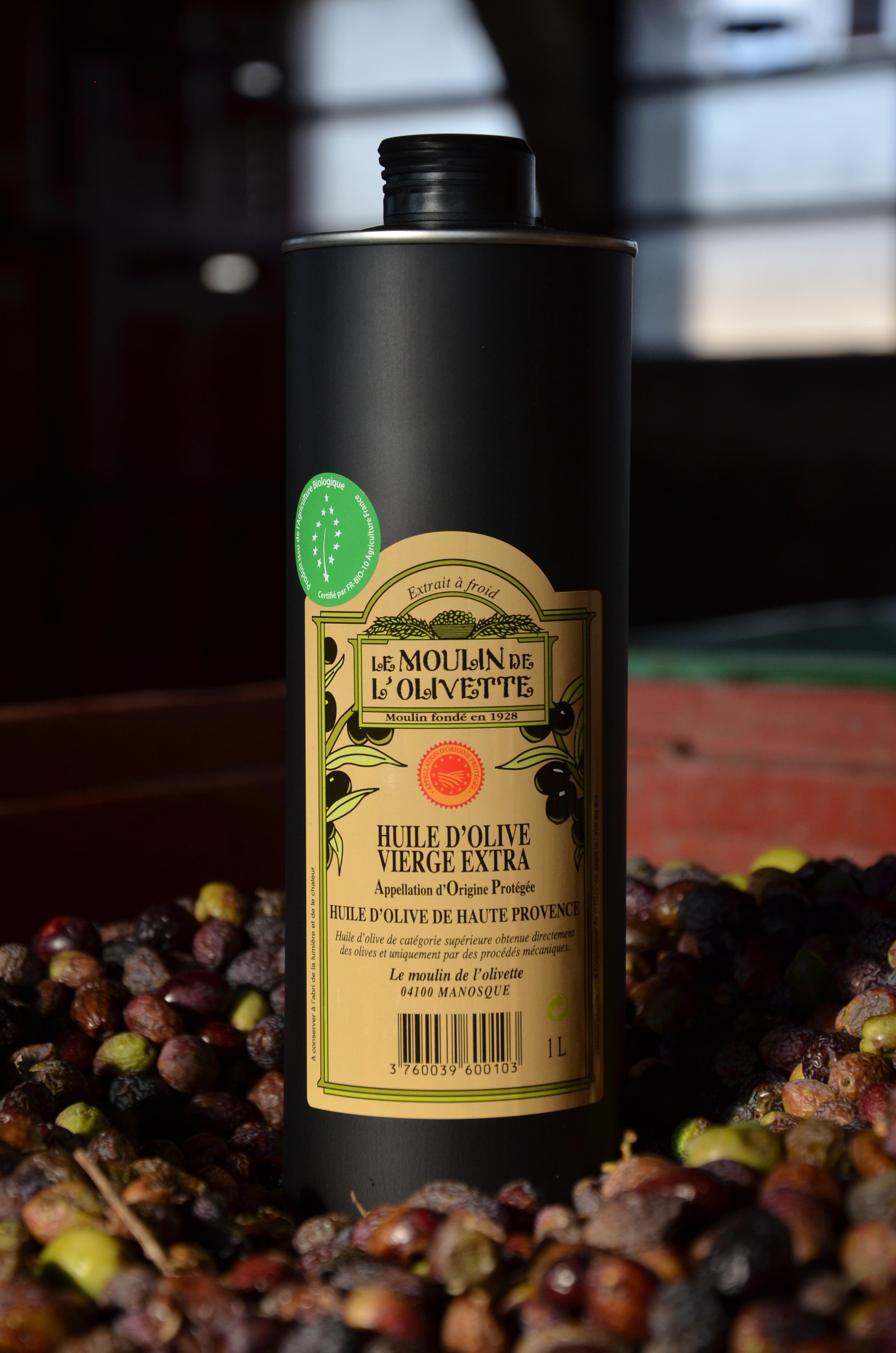 v extra bio aop haute provence 1l huile d 39 olive de provence aoc en vente directe du. Black Bedroom Furniture Sets. Home Design Ideas